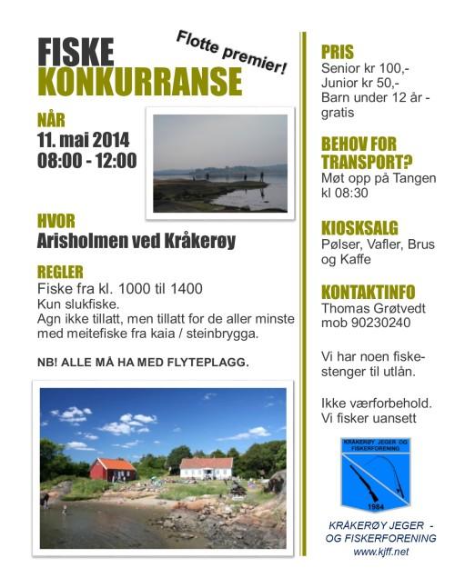 fiskekonk arisholmen 2014